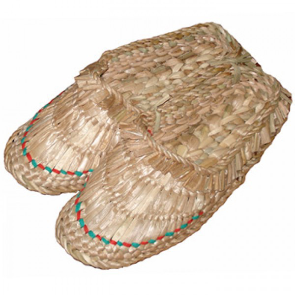 Лапти плетеные, рогоза (36-45 р.)