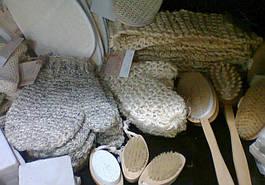 Мочалки и массажеры для бани и сауны