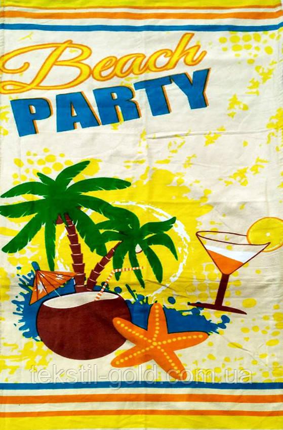 ТМ TAG Полотенце пляжное (Турция) Beach party 75х150 см