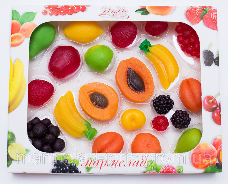 Мармелад Игрис  фрукты вес 425грамм