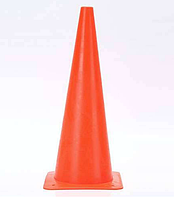 Фишка для разметки дистанции в форме конуса 38 см оранжевый