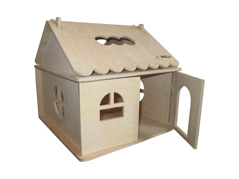 Кукольный домик  Hega для творчества 1эт. (040)
