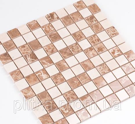 Мозаика СМ 3023 C2 beige/white 30x30, фото 2