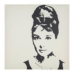 Картина IKEA PJÄTTERYD 90x90 см Audrey Hepburn 703.291.50