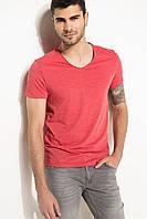 Коралловая мужская футболка De Facto / Де Факто