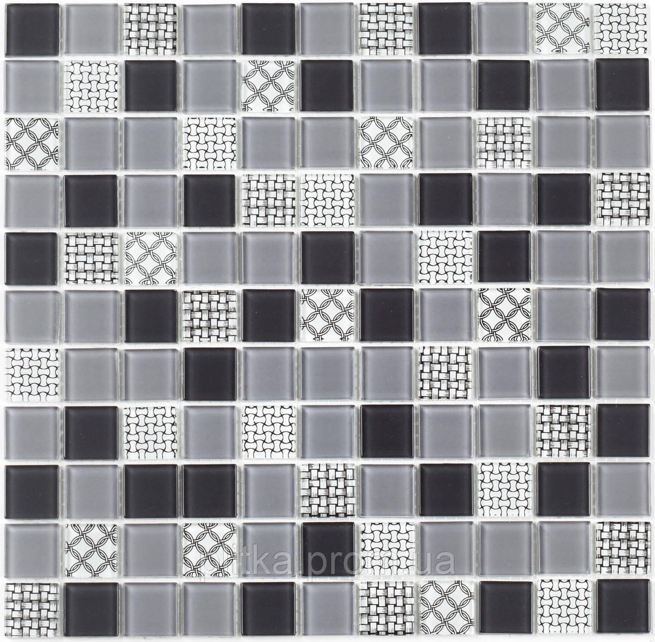 Мозаика GM 4053 C3 Gray m/Gray w/Structure 30х30