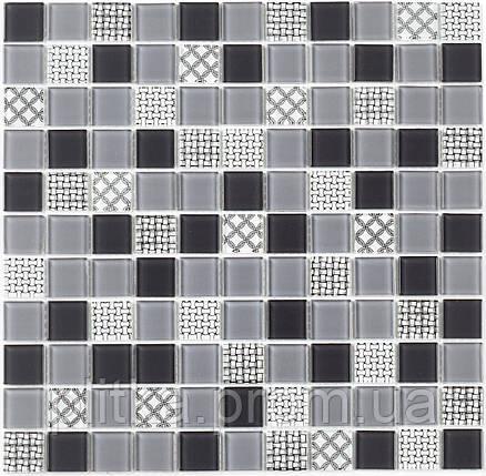 Мозаика GM 4053 C3 Gray m/Gray w/Structure 30х30, фото 2