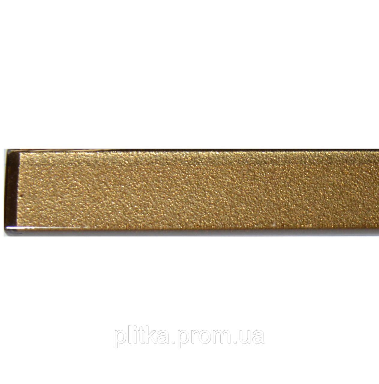 Фриз стеклянный GF 6007 brown silver 25х600