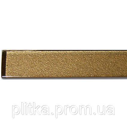 Фриз стеклянный GF 6007 brown silver 25х600, фото 2