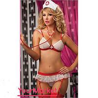 Костюм медсестры для ролевых игр сексуальная медсестричка