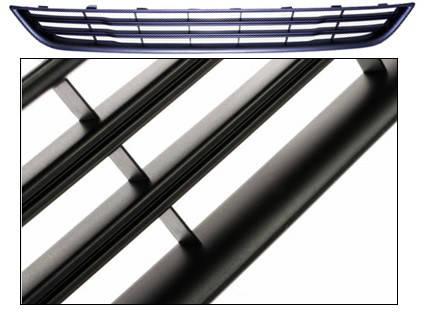 Решетка бампера Ford Fiesta VI (13-17) средняя, нижняя, черн. рамка (FPS), фото 2