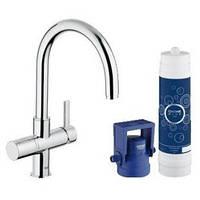 Смеситель кухонный Grohe Blue blue Pure OHM с функцией фильтрации воды 33249001
