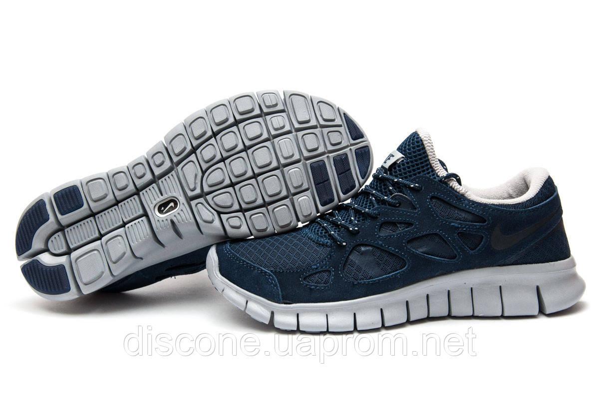 Кроссовки мужские 13442 ► Nike Free Run 2+, темно-синие ✅Скидка 35% ► [ 41 ]