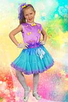 Стиляга (сиренево/голубой ). 122-128 см. Детские карнавальные костюмы