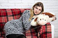Игрушка подушка трансформер Корова квадрат 47 см