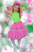 Роза цветок. 122-134 см. Детские карнавальные костюмы