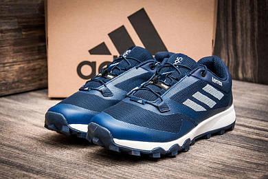 Кроссовки мужские Adidas Terrex, темно-синий (2461-3),  [  44 (последняя пара)  ]