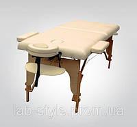 Массажный стол TEO Двухсекционный деревянный
