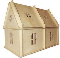 Будиночок-розмальовка для лол дерев'яний ігровий Hega (070), фото 1