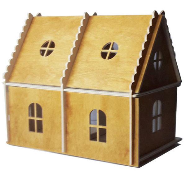 Кукольный домик  Hega тонированый 2эт.  (071)