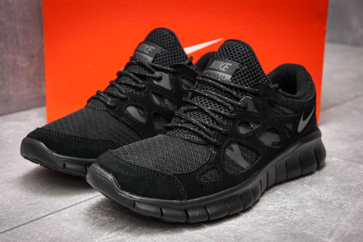 Кроссовки мужские Nike Free Run 2+, черные (13441) размеры в наличии ►(нет на складе)