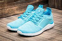 Ярко-голубые женские кроссовки BaaS (Баас) на лето — 36 размер