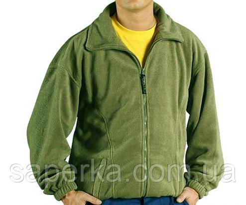Флисовая куртка,кофта Polar (Польша) олива, фото 2
