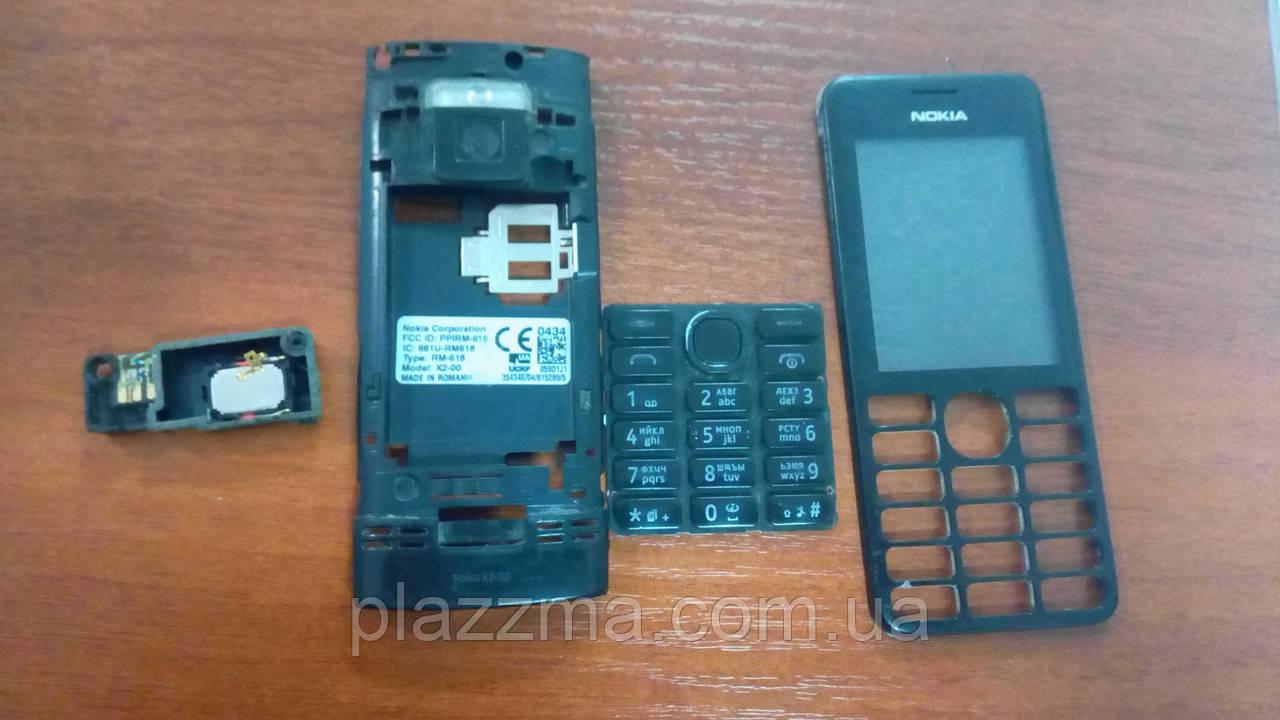 Телефон Nokia X2-00 на запчасти или восстановление