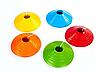 Фишка футбольная для пола малая круглая 5 см Цвет: синий, фото 5