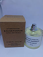 Byredo Black Saffron 100мл тестер (байредо блек шафран)