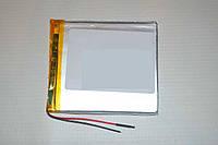 Универсальный аккумулятор (АКБ, батарея) 3.7V 3500mAh (2.8*77*86mm)