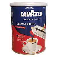 Кофе молотый Lavazza Crema e Gusto железная банка 250г.
