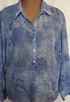 Женская блуза Debenhams из мягкого креп - шифона, большой размер 22(54/58), фото 1