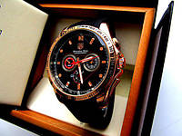 Супермодные мужские кварцевые часы Tag Heuer Mercedes-Benz 96753 Реплика Качество!
