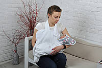 Полотенце Мамина забота, Умка, белое ( полотенце для новорожденных )