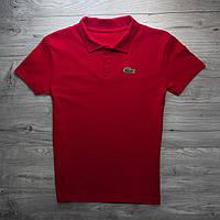 Поло Lacoste, красное 28c0ce585bf