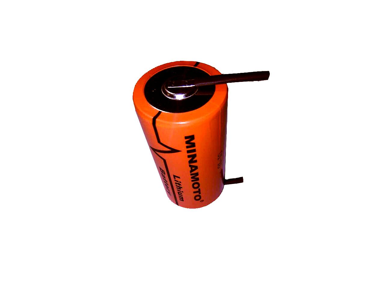 Батарейка литиевая размер D  Minamoto 3,6 вольт ER-34615 Н/Т