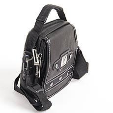 Сумка-кошелёк вертикальная, YADAN чёрная 13 х 16 х 5 ткань нейлон  кс1082, фото 2