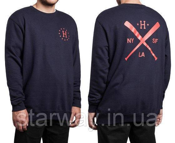 Свитшот HUF logo | Кофта стильная