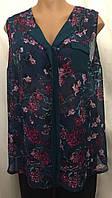 Женская блуза  из мягкого, тонкого шифона, очень большой размер 26, фото 1