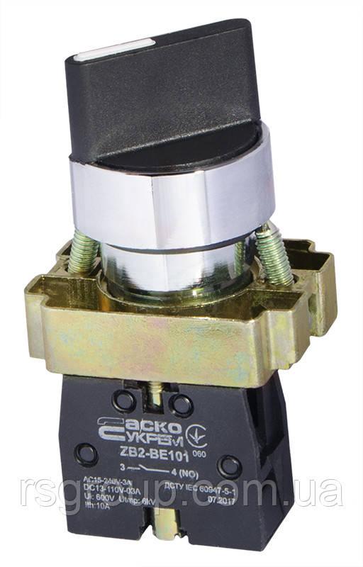 Кнопка управления XB2-BD41 с коротким рычажком
