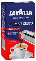 Кофе молотый Lavazza Crema e Gusto вакуум  250г.