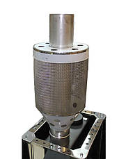 Корзина для камней в бане на трубу ф120 из нержавеющей стали 1 мм AISI 304, фото 2