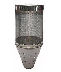 Сетка для камней в баню на дымоход ф150 из нержавеющей стали 1 мм AISI 304, фото 3