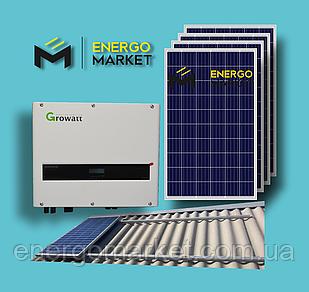 Сетевая солнечная станция 10 кВт