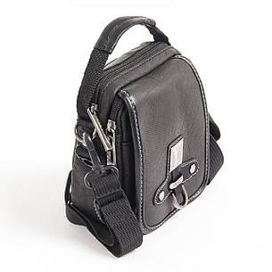 Сумка-кошелёк тканевая, чёрная YADAN 13х16х5  кс1088, фото 2