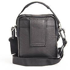 Сумка-кошелёк тканевая, чёрная YADAN 13х16х5  кс1088, фото 3