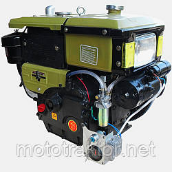 Двигун ДД195В 12л.с.(ручний стартер)