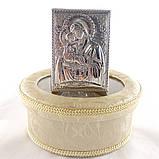 Почаївська ікона на дерев'яній основі, фото 2