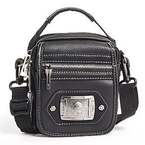 Сумка-кошелёк вертикальный чёрный YADAN 13х16х5  экокожа  кс1090, фото 2